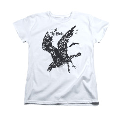 Image for The Birds Woman's T-Shirt - Title