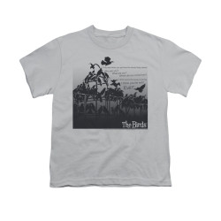 Image for The Birds Youth T-Shirt - Evil