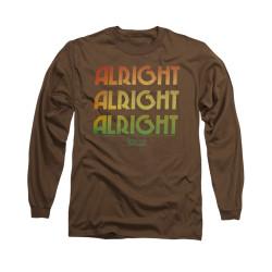 Image for Dazed and Confused Long Sleeve T-Shirt - Alright Z