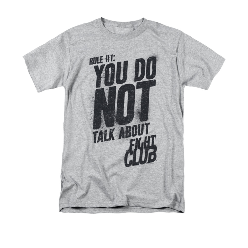 371fb5fbb20a9 Fight Club T-Shirt - Rule 1 - NerdKungFu