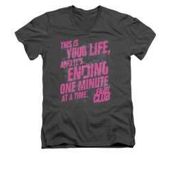 Image for Fight Club V-Neck T-Shirt - Life Ending
