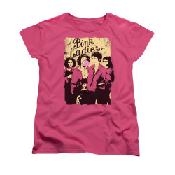 Image for Grease Woman's T-Shirt - Pink Ladies