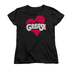 Image for Grease Woman's T-Shirt - Heart
