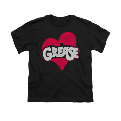 Image for Grease Youth T-Shirt - Heart