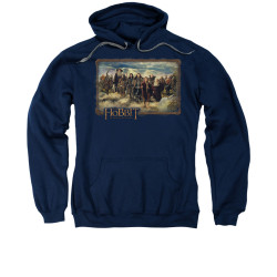 Image for The Hobbit Hoodie - Lonely Mountain