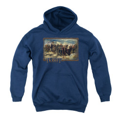 Image for The Hobbit Youth Hoodie - Lonely Mountain