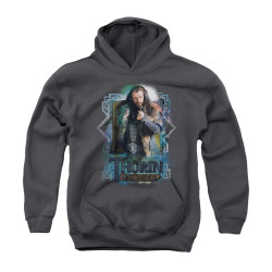 Image for The Hobbit Youth Hoodie - Thorin Oakenshield