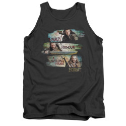 Image for The Hobbit Tank Top - Loyalty and Honour