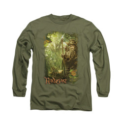 Image for The Hobbit Long Sleeve T-Shirt - In the Woods
