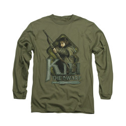 Image for The Hobbit Long Sleeve T-Shirt - Kili