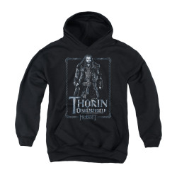 Image for The Hobbit Youth Hoodie - Thorin Stare