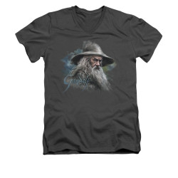 Image for The Hobbit V-Neck T-Shirt - Gandalf the Grey