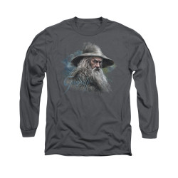 Image for The Hobbit Long Sleeve T-Shirt - Gandalf the Grey