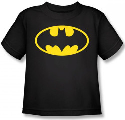 Image for Batman Kids T-Shirt - Classic Black Logo