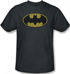 Image Closeup for Batman T-Shirt - Little Logos Logo