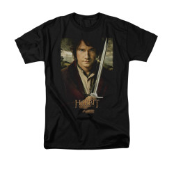 Image for The Hobbit T-Shirt - Baggins Poster