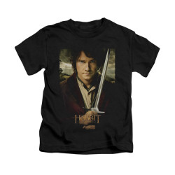 Image for The Hobbit Kids T-Shirt - Baggins Poster