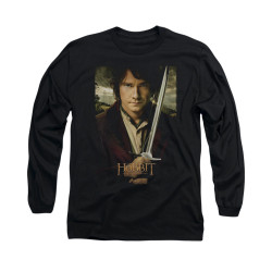 Image for The Hobbit Long Sleeve T-Shirt - Baggins Poster