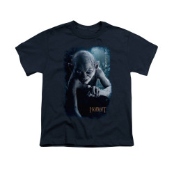 Image for The Hobbit Youth T-Shirt - Gollum Poster