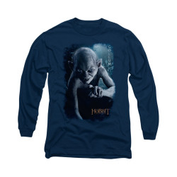 Image for The Hobbit Long Sleeve T-Shirt - Gollum Poster