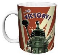 Image for Doctor Who Dalek to Victory Coffee Mug