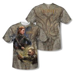 Image for The Hobbit Sublimated Youth T-Shirt - Elves