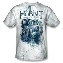 Image for The Hobbit Sublimated Youth T-Shirt - Ready for Battle