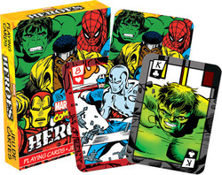 Image for Marvel Heroes Comics Playing Cards