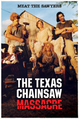 Image for Texas Chainsaw Massacre Poster - Meat the Sawyers