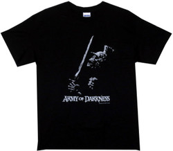 730df3ef Image for Army of Darkness T-Shirt - Skeleton Soldier