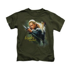 Image for The Hobbit Kids T-Shirt - Legolas Greenleaf
