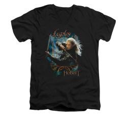 Image for The Hobbit V-Neck T-Shirt - Knives