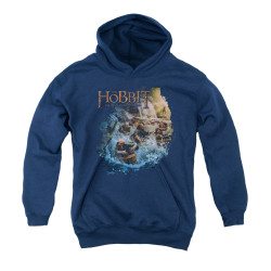Image for The Hobbit Youth Hoodie - Barreling Down