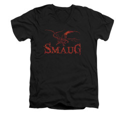 Image for The Hobbit V-Neck T-Shirt - Dragon
