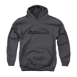 Image for The Hobbit Youth Hoodie - Marching