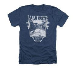 Image for The Hobbit Heather T-Shirt - Laketown Simple