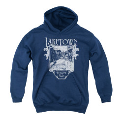 Image for The Hobbit Youth Hoodie - Laketown Simple