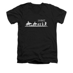 Image for The Hobbit V-Neck T-Shirt - Orc Company