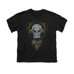Image for The Hobbit Youth T-Shirt - Azog