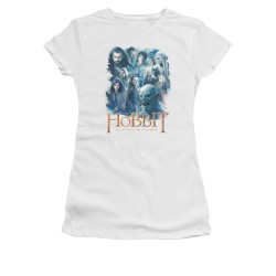 Image for The Hobbit Girls T-Shirt - Main Characters