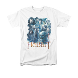 Image for The Hobbit T-Shirt - Main Characters