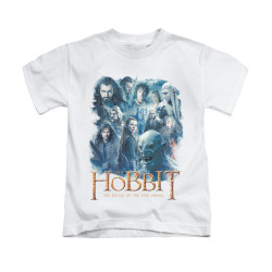 Image for The Hobbit Kids T-Shirt - Main Characters