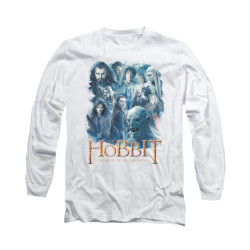 Image for The Hobbit Long Sleeve T-Shirt - Main Characters