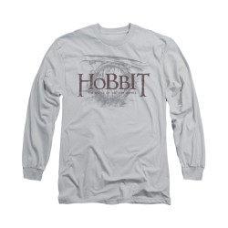 Image for The Hobbit Long Sleeve T-Shirt - Door Logo