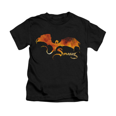 Image for The Hobbit Kids T-Shirt - Smaug on Fire