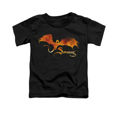 Image for The Hobbit Toddler T-Shirt - Smaug on Fire