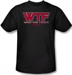 Battlestar Galactica T-Shirt - WTF Image 2