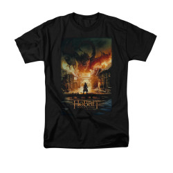 Image for The Hobbit T-Shirt - Smaug Poster