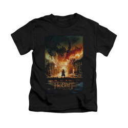 Image for The Hobbit Kids T-Shirt - Smaug Poster