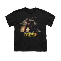Image for Hellboy II Youth T-Shirt - Poster Art